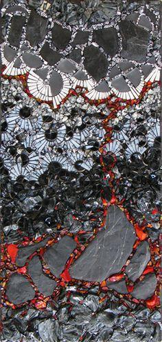 NEW WORK. Rivenworks Mosaics. Kelley Knickerbocker. Architectural and Fine Art Mosaic.
