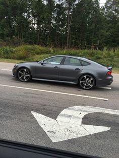 Audi RS7 Matte Grey