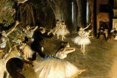 Ensayo de Ballet, Edgar Degas