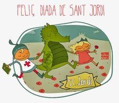 Com aprendre a aprendre: Feliç Diada de Sant Jordi!!!!!