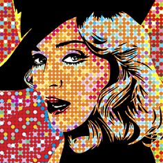 Madonna | Lobo | Pop Art Are you an artist? Are you looking for one? Find a business OPPORTUNITY as an artist!!! Join b-uncut, the Art Exchange art.blurgroup.com