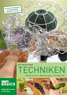 BASICS Lernbuch Techniken Leseprobe  Materialien, Werkzeuge, Handgriffe. Von Karl-Michael Haake. Auszug aus 160 Seiten, Format Din A4, Paperback. ISBN 978-3-939868-66-8