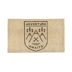 Adventure Awaits Doormat