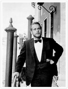 A scruffy Paul Newman