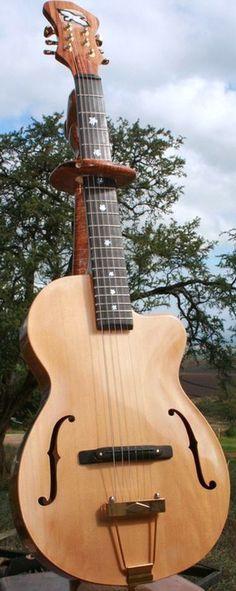 Ravens Archtop Parlour Guitar ~ https://www.pinterest.com/lardyfatboy/