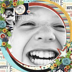 LAUGH!! - TEMPLATE: The Bigger Picture #6 by Heartstrings Scrap Art  https://www.digitalscrapbookingstudio.com/digital-art/templates/the-bigger-picture-6/  http://www.gottapixel.net/store/product.php?productid=10031143&cat=&page=1  KIT: He's All That & He's All That-He's Funny by Shawna Clingerman http://www.sweetshoppedesigns.com/sweetshoppe/product.php?productid=27897&cat=&page=1