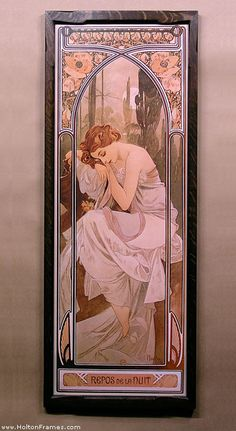 Alphonse Mucha (1860-1939), art nouveau poster