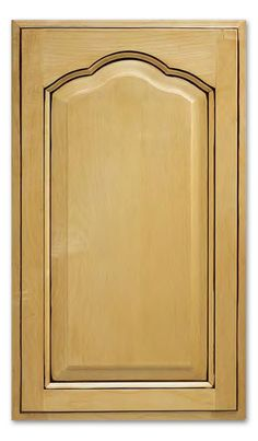 The Palermo is truly one-of-a-kind with its scalloped arch pattern and expert design to create this stunning door that is sure to grab attention. Cabinet door shown in Maple. Cabinet door stile is 2 and rail is 2 Minimum width is 12 and minimum h Raised Panel Cabinet Doors, Shaker Cabinet Doors, Cabinet Fronts, Cabinet Door Styles, Shaker Cabinets, Redo Kitchen Cabinets, Kitchen Cabinet Doors, Quality Cabinets, Custom Cabinets