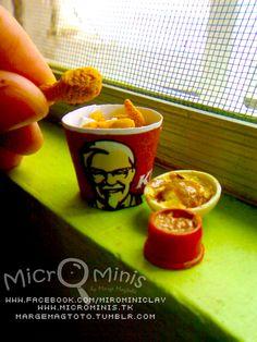 Mini KFC bucket!