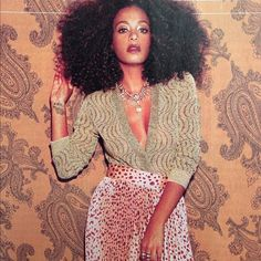 Solo Solange Knowles Afro Curly Hair Styles Natural