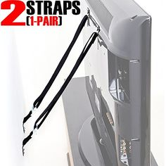 SmartMe TV And Furniture Anti Tip Straps For Baby Proofing Only Metal Parts  Durable Heavy