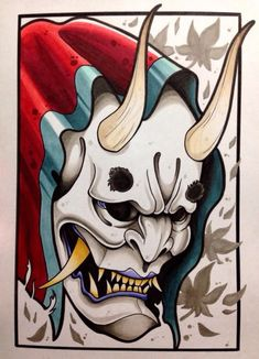 hannya tattoo | Tumblr