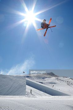 James Woods of Great Britain competes in the Winter Games NZ at Cardrona Alpine Resort (Photo by Neil Kerr) | #Ski #NZ #sport #photography