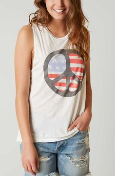 Billabong Peace & Love Tank - Women's Clothing | Buckle