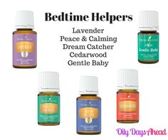 If bedtime at your house is difficult, why not try on of these wonderful solutions.  We use a combo of Lavender, Peace&Calming, and Cedarwood at my house.  Gently Baby is good for infants and toddlers, and I'm looking forward to trying Dream Catcher soon. #oilydaysahead http://www.oilydaysahead.com