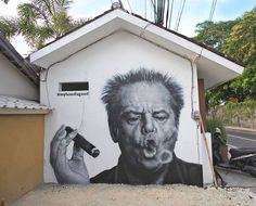 Street Art Daily Wall n°3 Daily street art and graffiti masterpieces Newham, London, UK: new piece by British artist Dan Kitchener aka DANK. Links: Blog – Instagram – Twitter – Fa…