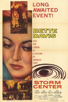 """... she's got Bette Davis eyes ..."" Betty Davis is a librarian in the 1956 movie Storm Center."