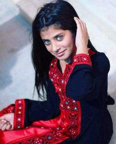 A girl from Palestine