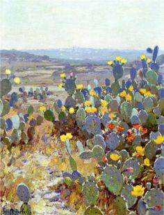 Untitled (aka Landscape with Catci) - Robert Julian Onderdonk