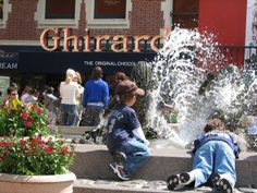 Ghiradelli Square - San Francisco's Best Chocolate Factory.