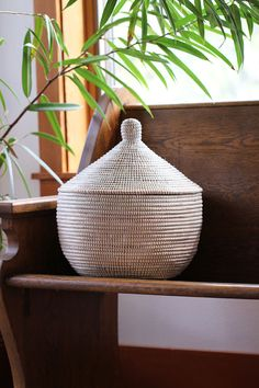 Beautiful and functional storage for your home. These affordable baskets are fair trade from Senegal.
