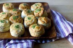 parsley pecorino biscuits