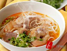If you like it hot and spicy then get yourself some: Bún bò Huế