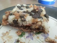 """7 Layer Bar Desert- Recipe can be found in the book 'Against all Grain"""""""