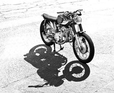Honda CB77 Super Hawk 305cc -this model was central in the book Zen and the Art of Motorcycle Maintenance