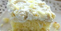 Ingredients Cake: 1 box yellow cake mix 4 eggs cup oil (I used vegetable oil) 1 oz) can crushed pineapple with juice Frosting: 1 oz) container whipped topping, thawed 1 small box instant vanilla pudding 1 oz) can crushed pineapple with juice Instructions 13 Desserts, Delicious Desserts, Dessert Recipes, Pineapple Cake, Crushed Pineapple, Sunshine Cake, Good Food, Yummy Food, Yellow Cake Mixes