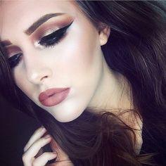 WEBSTA @ katclrk__ - details: @makeupgeekcosmetics bitten in the crease, cocoa…