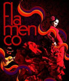 Flamenco. La guitarra y la musa. Show Dance, Dance Art, Gypsy Culture, Spanish Dancer, Dance Like No One Is Watching, Flamenco Dancers, Dance Movement, Learn To Dance, Lets Dance
