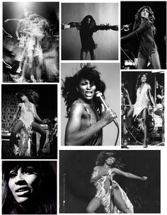 Tina Turner (circa 1960s)  Saw her at the Miami Beach Playboy Club in 1970