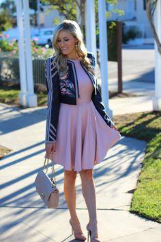 Blush Thanksgiving Outfit | She Said He Said - A Fashion Blog