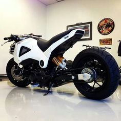 ComposiMo stretched and lowered Honda Grom.