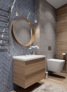VK is the largest European social network with more than 100 million active users. Bathroom Design Luxury, Bathroom Layout, Modern Bathroom Design, Bathroom Design Inspiration, Bad Inspiration, Small Attic Bathroom, Master Bathroom, Bad Styling, Bathroom Styling