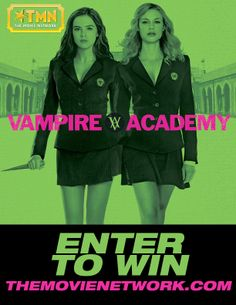 Win Vampire Academy on Blu-ray from The Movie Network. #Giveaway #PinItToWinIt