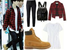 BTS   Jimin   Airport Fashion - Girls Version