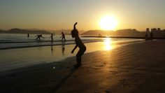 Praia de Santos - Brasil 01/08/2015