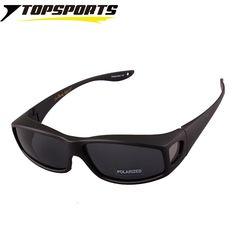 dfc8cfdc316 TOPSPORTS men women Fit over Glasses myopia polarized Sunglasses  prescription frame Eyewear for Driving Anti UV400