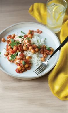 ChickPea Tikka Masala- coming to a dinner party near ME sometime soon. Will serve with naan and quinoa with mixed vegetables.
