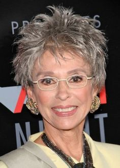 hairstyles for older women with glasses.,.