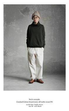Mori Fashion, Grey Fashion, Unisex Fashion, Minimal Fashion, Womens Fashion, Japan Fashion, Daily Fashion, White Pants Men, Japanese Minimalist Fashion