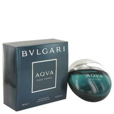 AQUA POUR HOMME by Bvlgari Eau De Toilette Spray 5 oz (Men) - tradlees