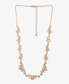 Filigree Flower Necklace | FOREVER21 - 1030186496