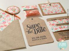 de boda invitacin en kraft con mapa etiqueta y en los