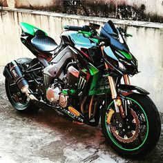 Kawasaki. Motorcycles, bikers and more