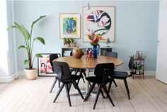 my scandinavian home: Home Tour: How to Add Colour, The Danish Way!