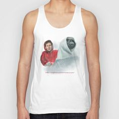 Mulder and the ET files Unisex Tank Top by Magdalena Almero - $22.00