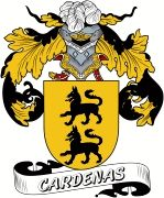 De Cardenas Spanish Coat Of Arms www.4crests.com #coatofarms #familycrest…